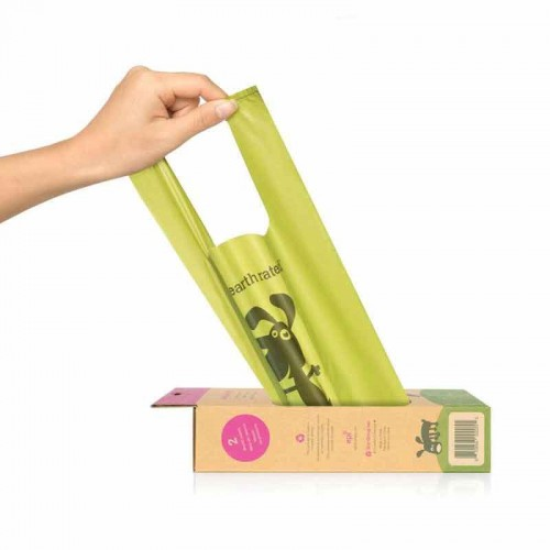 Rollo 300 bolsas higiénicas biodegradables Earth Rated