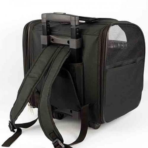 Bolso-mochila tirador con ruedas