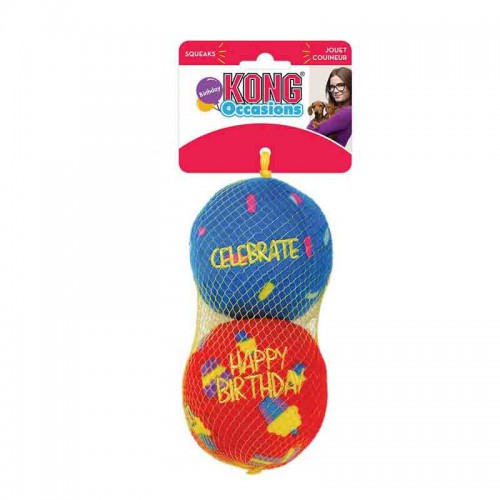 Kong Occasions Balls Cumpleaños M pack