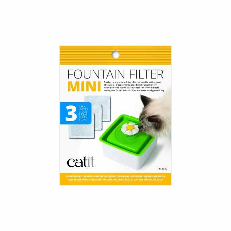 Filtros para fuente Catit Mini Flower 1,5 L