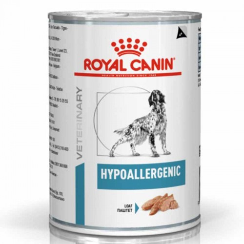 Royal Canin Hypoallergenic Lata 400Gr