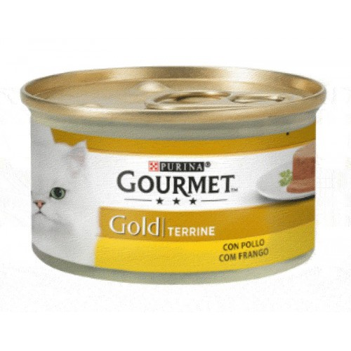 Purina Gourmet Gold Terrine con Pollo 85g