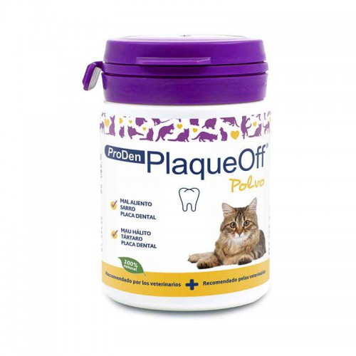 Plaqueoff Dental Polvos gato