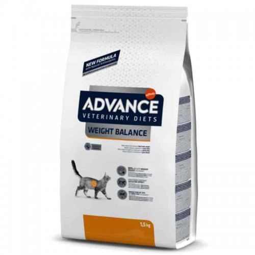 Advance Weight Balance para gatos