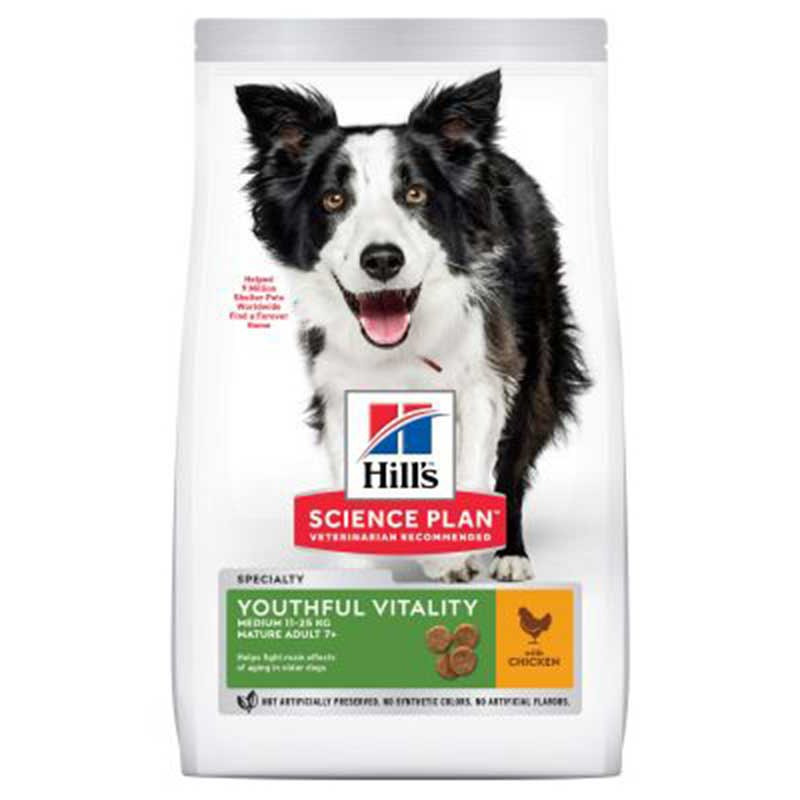 Hill's Canine Youthful Vitaliti mature +7