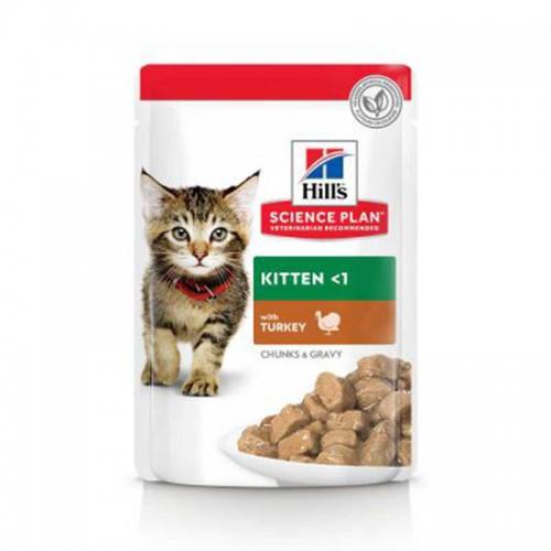 Hill's Kitten comida húmeda