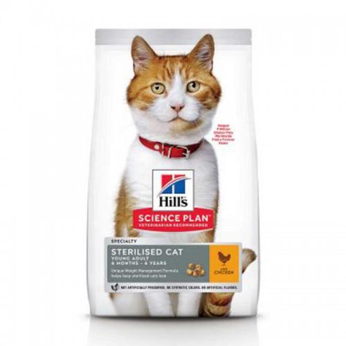 Hill´s Feline Young Adult Sterilised Pollo