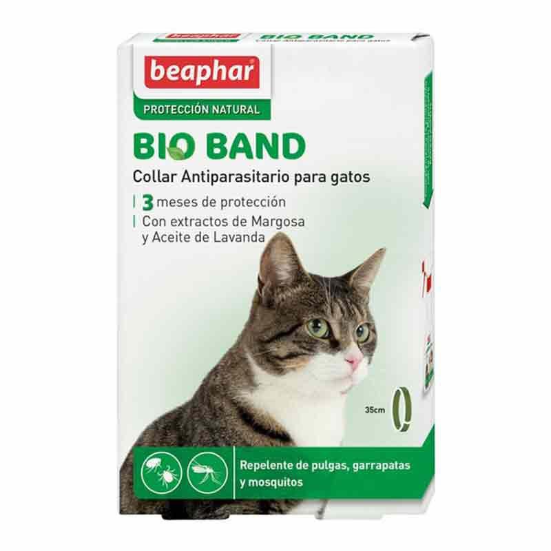 Collar Repelente insectos Bio Band para gatos