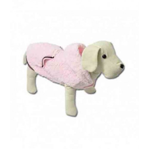 Abrigo borreguito rosa Nayeco