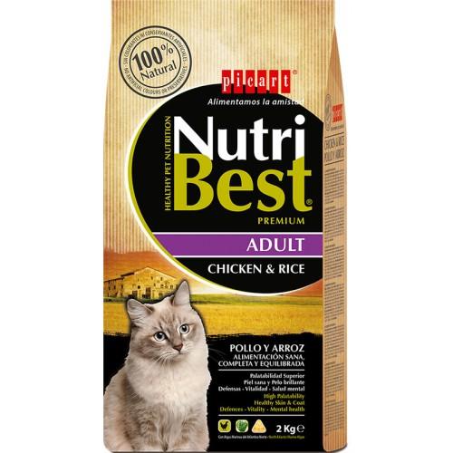Nutribest Cat Adulto pollo y arroz