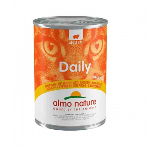 Almo Nature Cat Grain Free Mousse Pavo 400gr