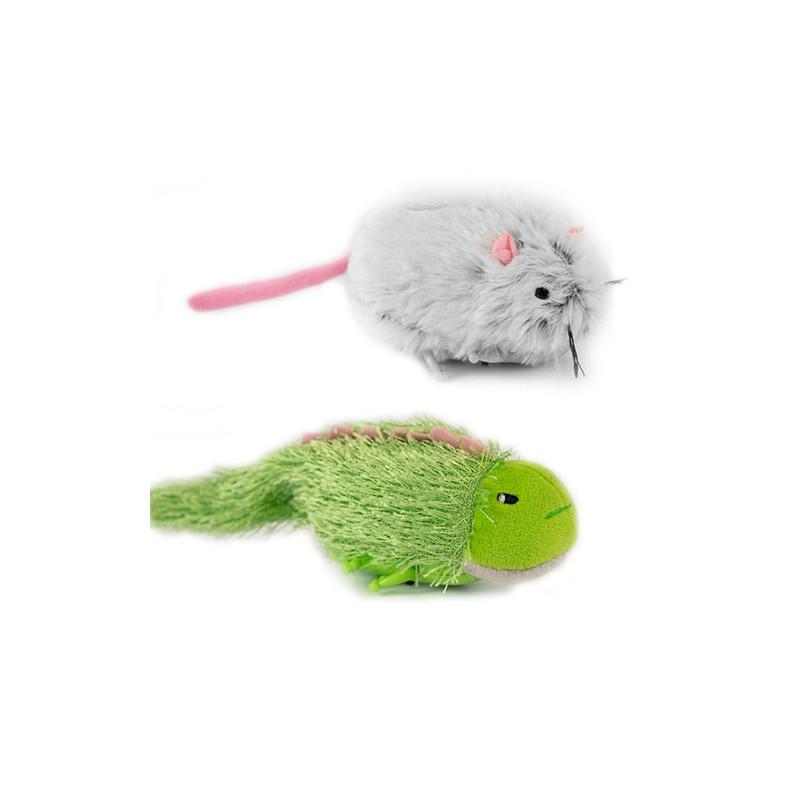 Juguete Ratón cola larga con catnip