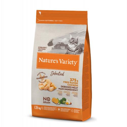 Nature´s Variety Selected Gatos Esterilizados Pollo