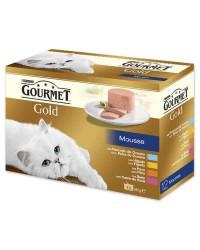 Multipack mousse para gatos Gourmet
