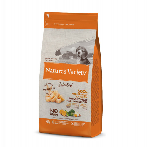 Nature´s Variety Selected Cachorro Pollo