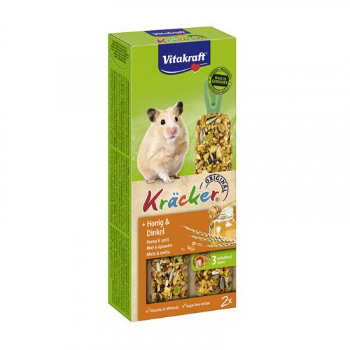 Snack Miel y espelta Vitakraft para Hamsters