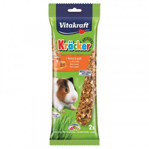 Snack Miel y espelta Vitakraft para Cobayas