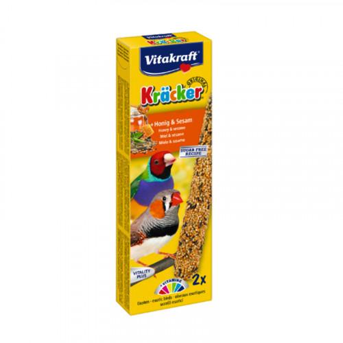 Barritas miel y sésamo para pájaros exóticos Vitakraft