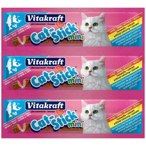 Cat Stick mini de salmón Vitakraft
