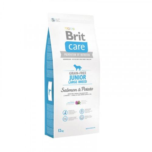Brit Care Junior Razas grandes - Salmón y patata