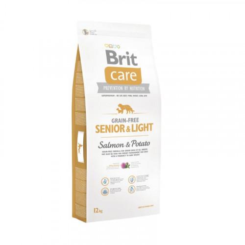 Brit Care Senior - Salmón y patata