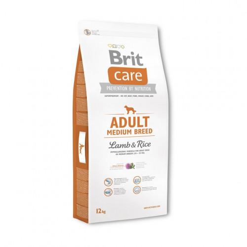 Brit Care Adulto Razas medianas - Cordero y Arroz