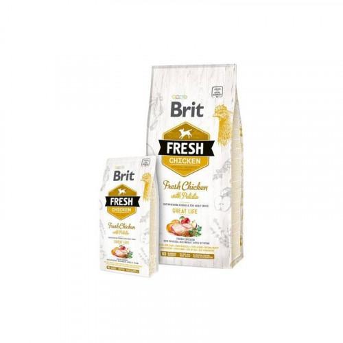 Brit Fresh Great Life Pollo y Patata