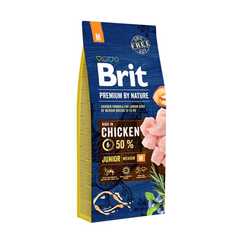 Brit Premium Junior Pollo Razas Medianas