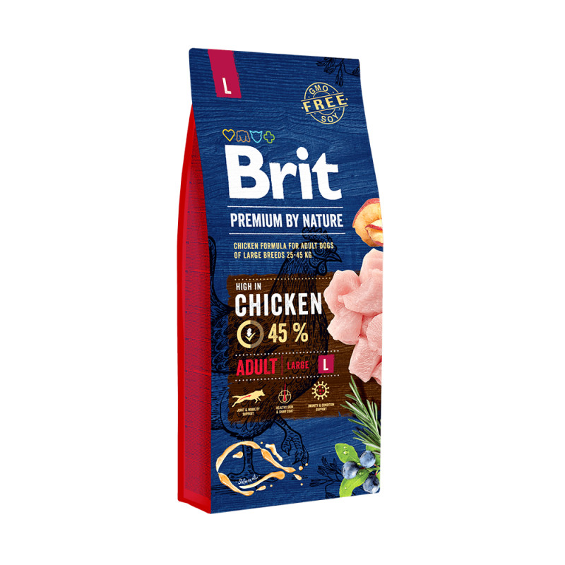 Brit Premium Adulto Pollo Razas Grandes