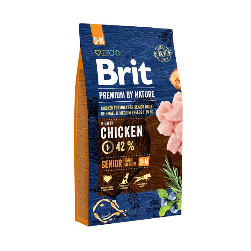 Brit Premium Senior Pollo Razas Pequeñas y Medianas