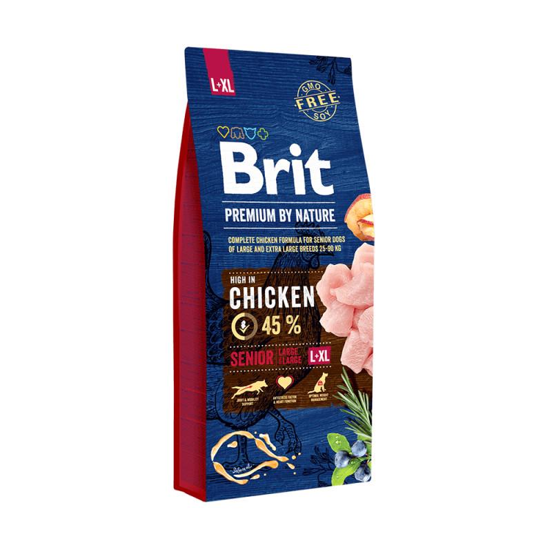 Brit Premium Senior Pollo Razas Grandes yGigantes