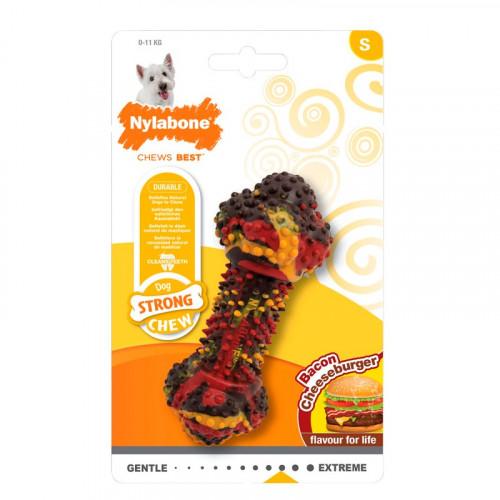 Nylabone Juguete Mordedor Bacon Cheeseburger