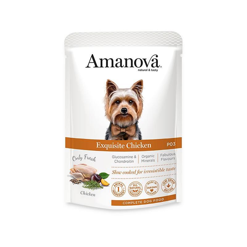 AMANOVA SOBRES ADULT BRILLIANT BEEF & CHICKEN