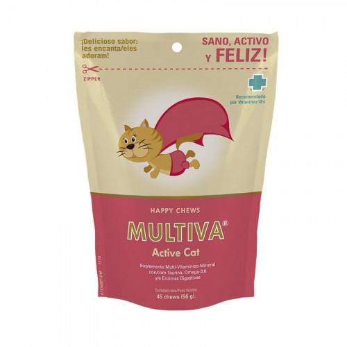 Multiva Happy Chews Active Cat